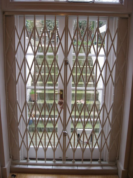 Security grilles window door