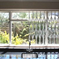 Window Grille - Muswell Hill Kitchen - half open