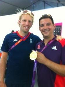 Paul from Alexandra Locksmiths with GB Gold Medal