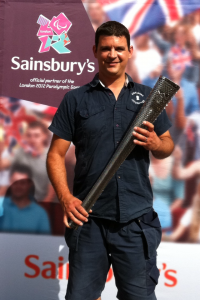 Paralympic Torch with Alexandra Locksmith