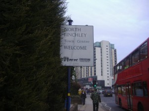 Welcome to North Finchley Sign