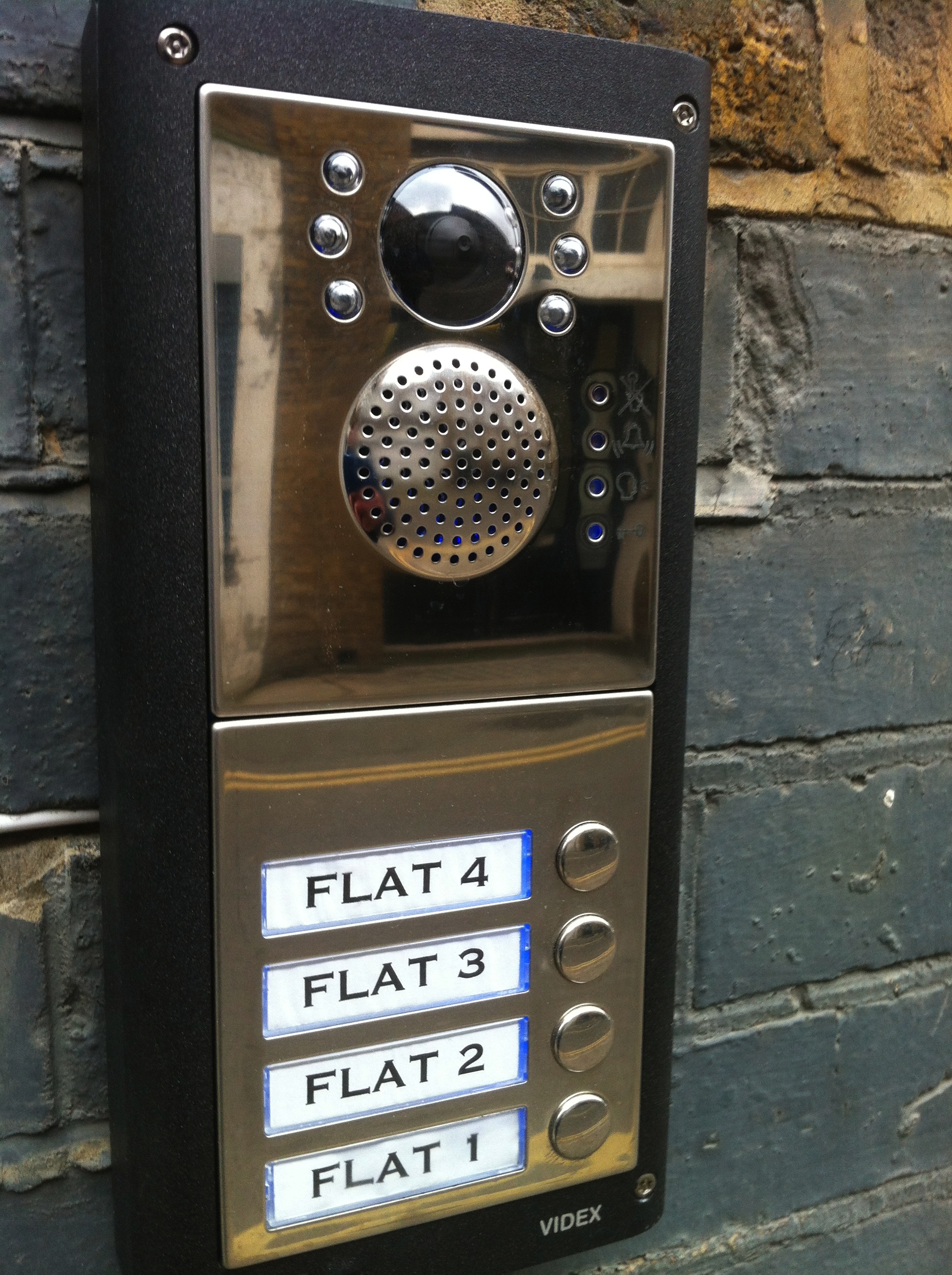 Videx Video Intercom System - Islington North London N1