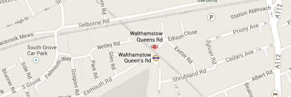 Map of Walthamstow - E17 Locksmith