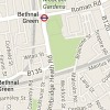 Map of Bethnal Green E2