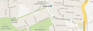 Map of Beckton London E6