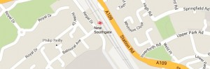 Locksmith New Southgate - Map