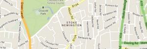 Locksmith Stoke Newington - Map