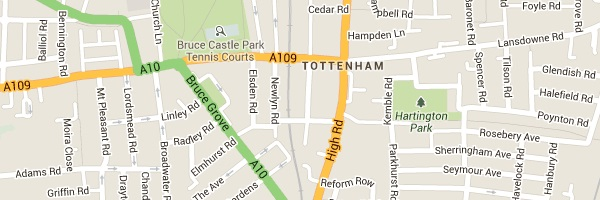 LocksmithTottenham - Map