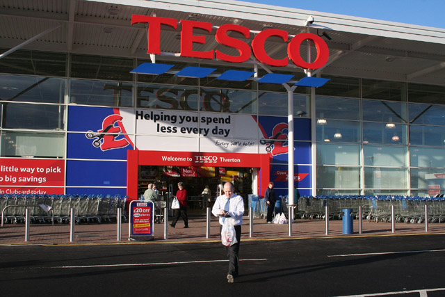 For Tesco, profit comes first