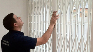 Window security grill