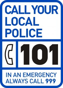 101 - police non emergency telephone number