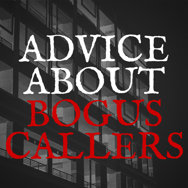 Bogus Caller in Crouch End and Muswell Hill